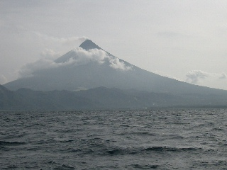 Mayon from Sea